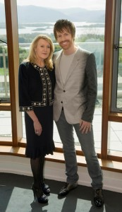 Designer judges, Louise Kennedy and Don O Neill