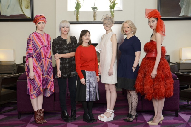At the launch of Kerry Fashion Week in the Fitzwilliam Hotel Dub