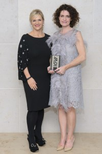 At KFW Irish Fashion Industry Awards in association with Image M